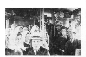 Kristiinan urheilujuhlissa jäivät kisat pitämättä. Kauhajokelaiset palasivat junalla takaisin 2.8.1914.