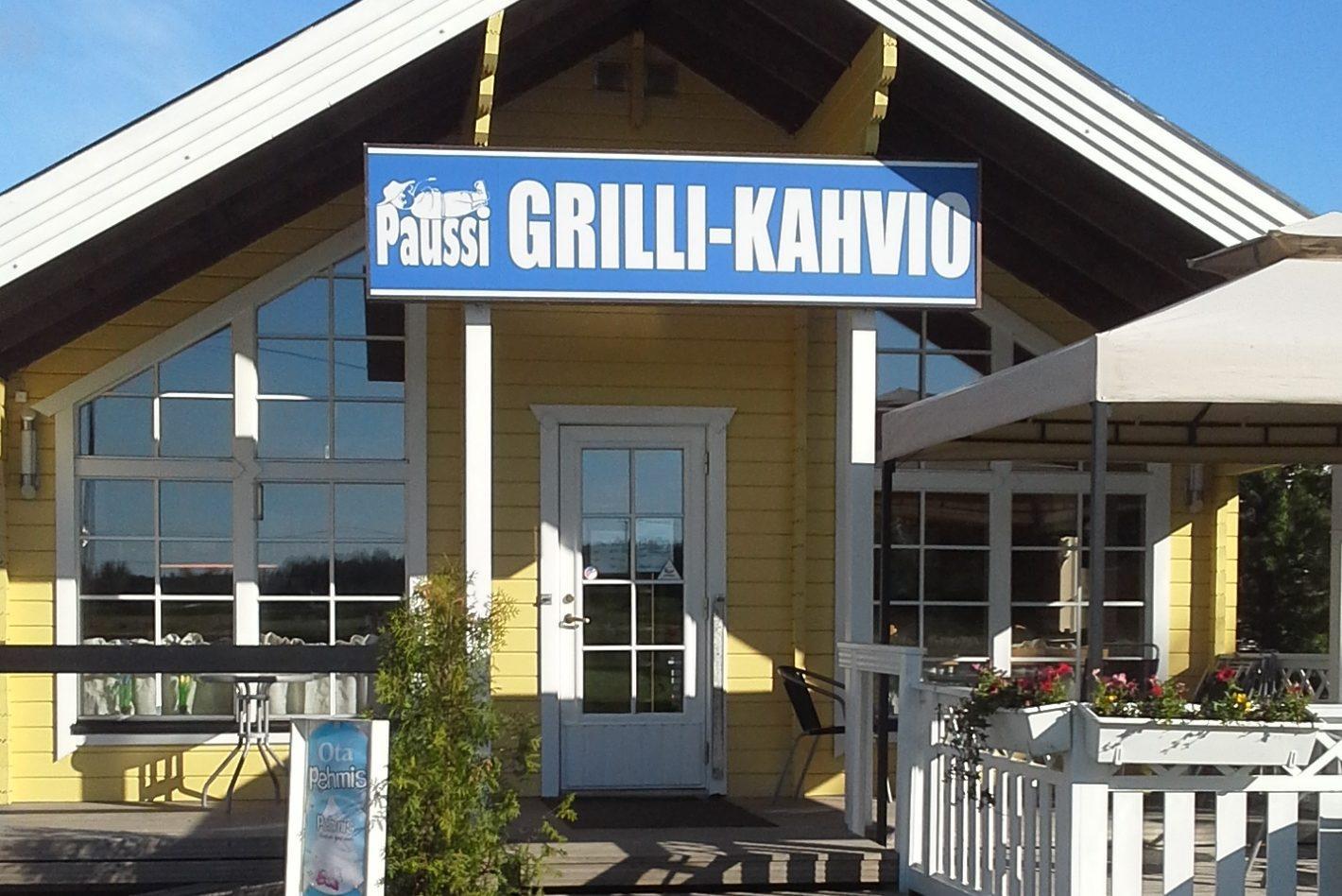 Kuva Grilli-Kahvio Paussin rakennuksesta.