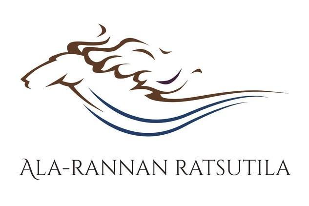Ala-Rannan Ratsutilan logo.