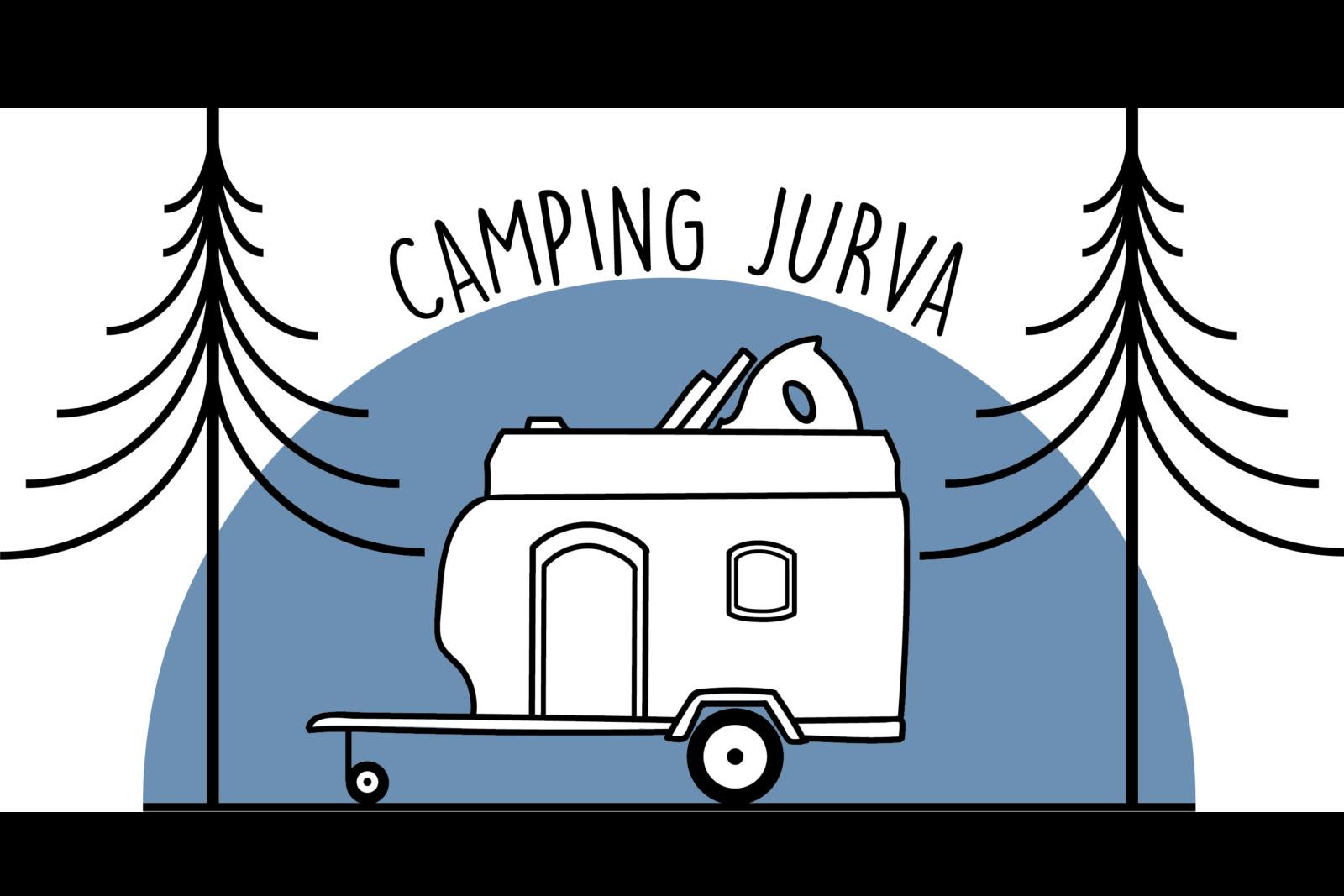Camping Jurvan logo.