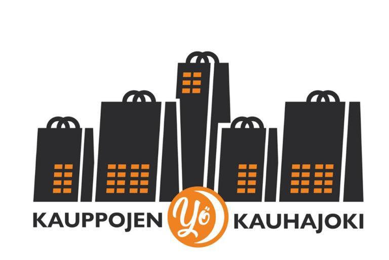 Kauppojen yö logo.